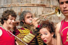 Circo, música y humor en 'El Festín'