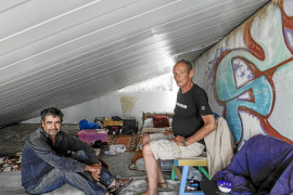 Superar los 50 sin techo y sin ningún futuro
