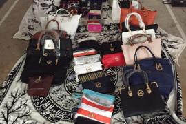Decomisan falsificaciones de marcas de lujo en es Canar