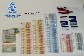 Tres personas detenidas por robar 5.000 euros en cuatro hoteles de Vila y uno de Sant Antoni