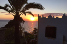 puesta de sol desde s'Estaca