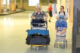 Teresa Gregorio: «No respiré tranquila hasta que pasamos todos los controles y al aterrizar en Eivissa he llorado»