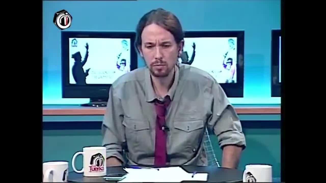 El PP ataca a Pablo Iglesias con un vídeo de 2012