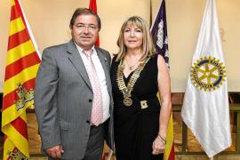 Marienna Sánchez- Jáuregui, nueva presidenta del Rotary Club Ibiza