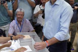 Sánchez anima a una participación «masiva» para que el gobierno tenga la «máxima legitimidad posible»