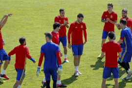 España juega contra Italia, las dudas y el fracaso