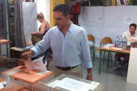Arranca la jornada electoral en las Pitiüses con la votación de sus candidatos