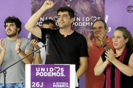 Units Podem Més busca consuelo en seguir como primera fuerza progresista