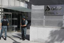 Catorce detenidos por inflar en 82 millones las obras del AVE en La Sagrera