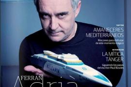 Baleària estrena nueva revista de tendencias, estilo de vida y viajes con Ferran Adrià