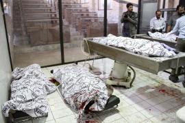 Al menos siete muertos al explotar una casa ocupada por terroristas en Karachi