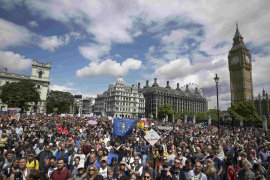 Manifestación contra el 'Brexit'