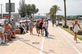 La venta ambulante toma s'Arenal