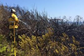 Alertan sobre el riesgo de incendio por usar maquinaria en terrenos forestales