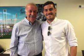 La reconciliación de Iker Casillas y Vicente del Bosque