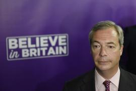 Dimite el líder del UKIP, Nigel Farage