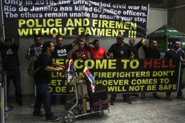«Bienvenidos al infierno», denuncia la policía de Río antes de los Juegos Olímpicos