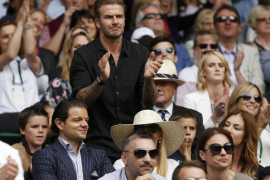 Beckham en Wimbldon