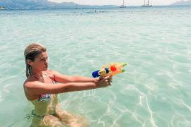 Adriana Abenia, relax en Mallorca