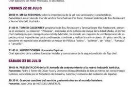 'La semana de la sal, especias y esteros' en el Mercado Gastronómico San Juan