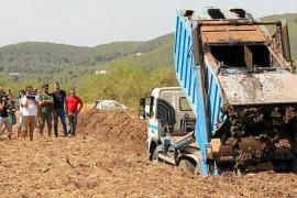 Santa Eulària saca provecho a los lodos de las depuradoras