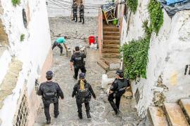 Vila recibirá 25.000 euros del Consell para ayudar a los desalojados de sa Penya