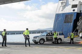 Detenido un viajero del ferry Denia-Eivissa con 20 kilos de anfetamina