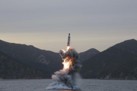 Seúl avisa que Corea del Norte ha lanzado un misil balístico desde un submarino