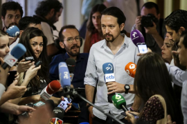 Iglesias pide escapar de «facciones y corrientes» en Podemos para ofrecer soluciones «creíbles»
