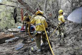Las Pitiüses han sufrido 22 incendios forestales en el primer semestre del año