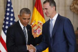 Obama resalta que Estados Unidos y España «comparten los mismos ideales»