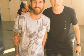 Messi aterriza en Ibiza