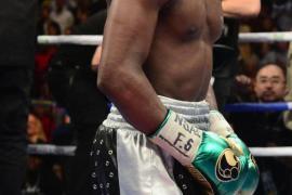 Floyd Mayweather en uno de sus combates