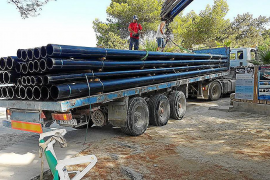 Sant Joan invierte 135.000 euros para limpiar la cala de Portinatx