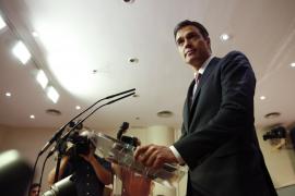 Sánchez dice a Rajoy que busque apoyos en sus partidos afines