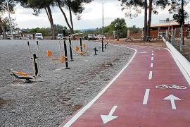 Santa Eulària amplía el parque infantil de es Pins de Puig d'en Valls