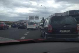 Caos circulatorio en Eivissa