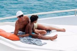 Cristiano Ronaldo, papá a bordo