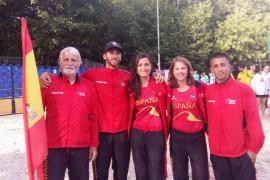 Pilar Escandell alcanza los octavos de final en el Mundial de tenis playa