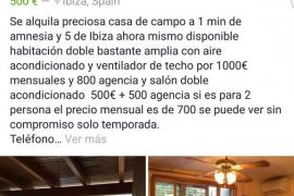 Alquilan una habitación por 1.000 euros y el salón en la misma casa por 700 euros más