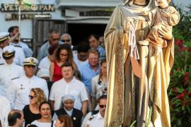 Nuevo gran éxito de la Virgen del Carmen en Vila