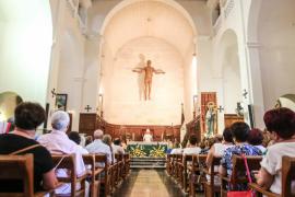 Procesión de la Virgen del Carmen en Vila
