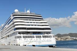 El crucero más lujoso llega a Eivissa