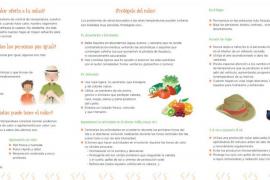 Precaución para evitar intoxicaciones alimentarias ante la subida de las temperaturas