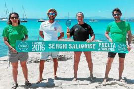 Sergio Salomone culmina la travesía