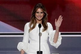 El discurso de Melania Trump, muy similar al de Michelle Obama en 2008