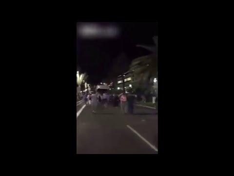 Un nuevo vídeo muestra cómo el camión se adentró entre la multitud en Niza