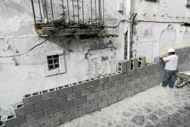 El Govern redactará el proyecto de rehabilitación de la manzana desalojada en el barrio de sa Penya