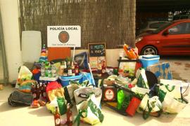 Sant Antoni actúa contra la venta ilegal de Cala Saladeta