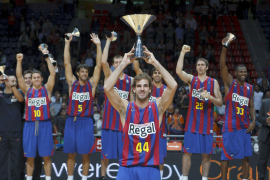 El Regal Barcelona suma su tercera Supercopa